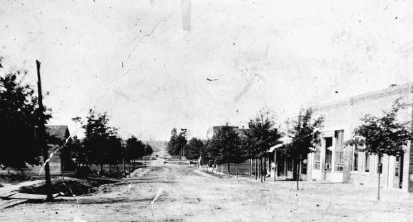 Waukesha Street Cur Hwy 79 Bonifay Fl Circa 1912 Photograph Courtesy Of The Florida Photographic Collection
