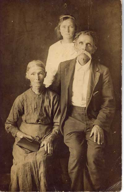 Grandparents of Mary Margaret, probably Arnolds